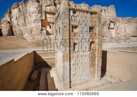 Cube Of Zoroaster, 5Th Century Bc. Persepolis Iran