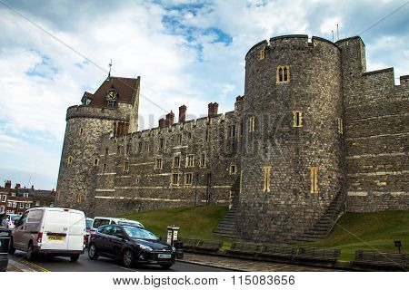 Curfew Tower, Part Of The Lower Ward In Medieval Windsor Castle.
