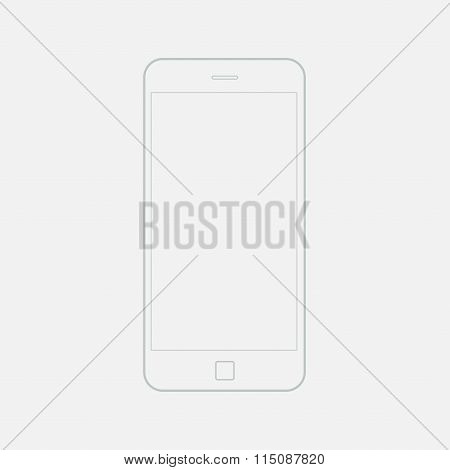 Phone Vector Outline