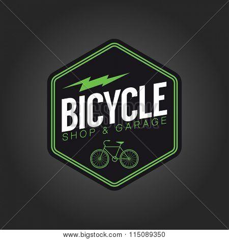 vintage bicycle sign