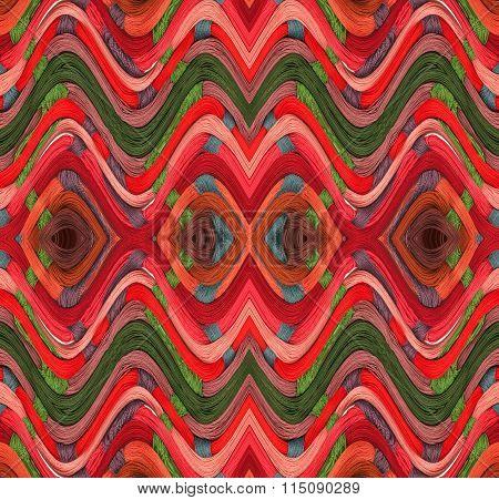 Illustraion of colorful yarn