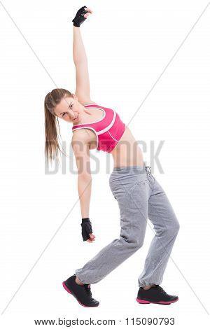 Sexy Sporty Woman