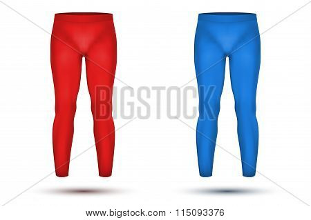 Under layer compression pants of thermo fabric.