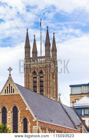 St.james Church Tower, Hammersmith, London
