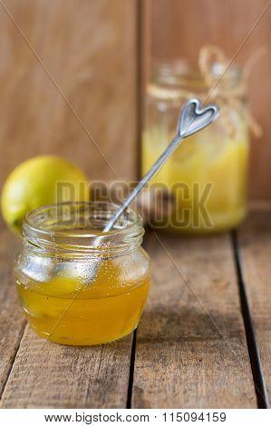 jam, ginger, lemon, honey