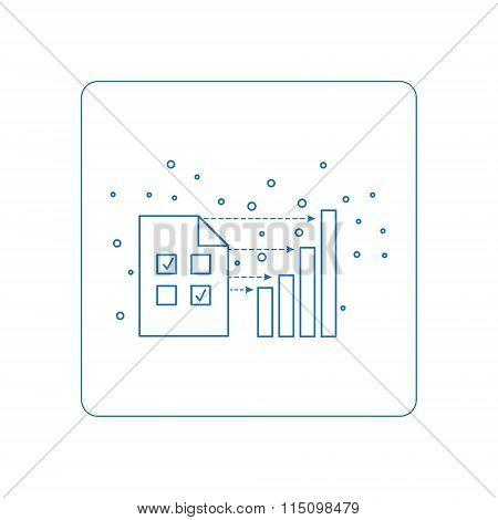 pictogramm of computer symbols.
