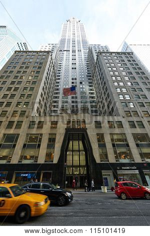 NEW YORK CITY - MARCH 28: Chrysler Building on March 28 2014 in New York, USA