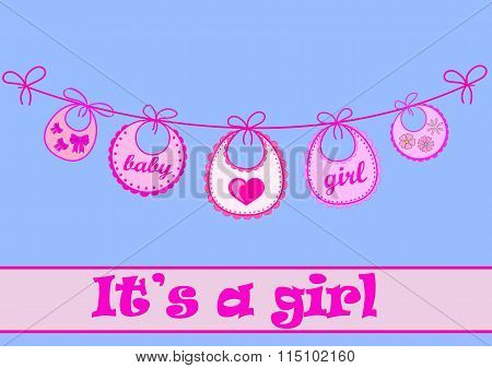Baby Bib For Girl
