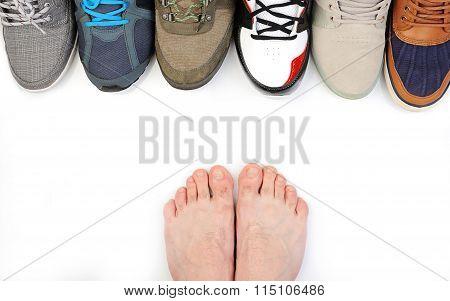 Man Bare Foot