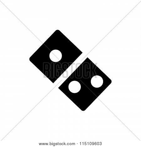 Flat Domino Icon