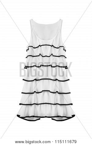 White Dress Isolated