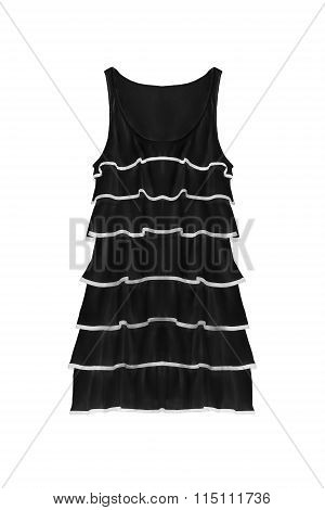 Black Dress Isolated