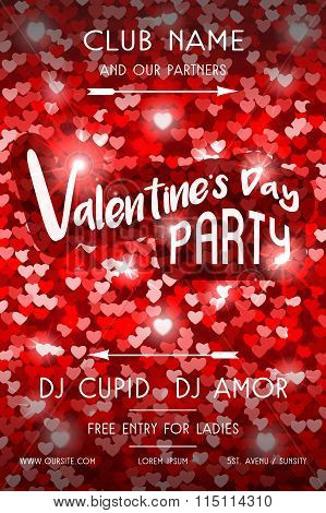 Valentines Day Party Flyer