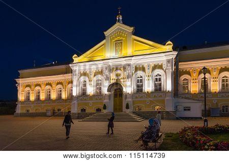 Refectory Housing Of Holy Trinity Seraphim-diveevo Monastery, Russia