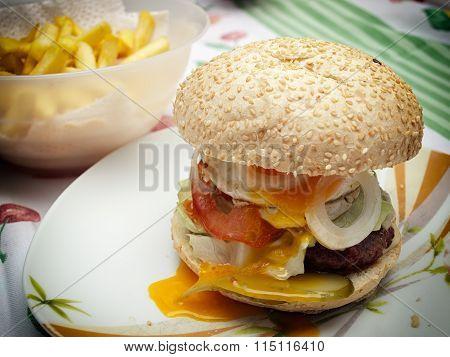 Domestic Burger