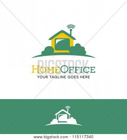 logo for work from home business