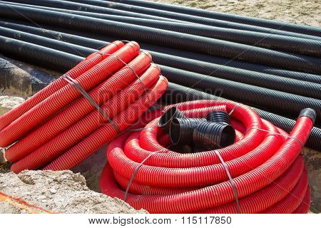 Flexible Sewer Pipe