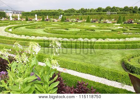 Hannover, Germany - 30 July: It's Ranks The Most Important Gardens In Europe. The Large Gardens In H