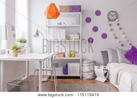 Stylish Room For Female Student