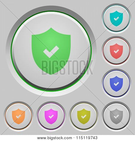 Active Security Push Buttons