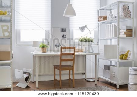 White And Brown Decor