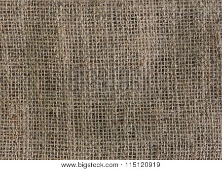Gunny Sack Texture For Background