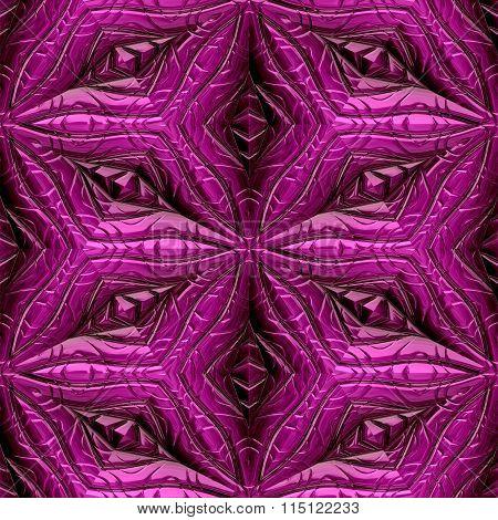 Pink Mayan Ornaments