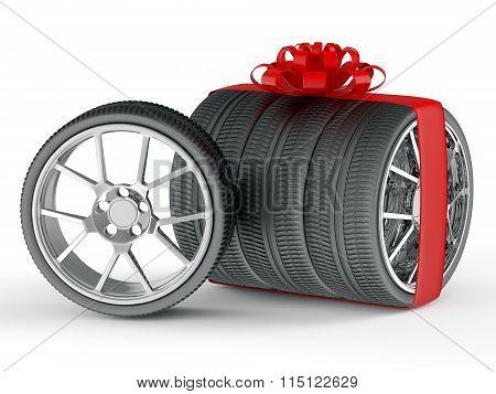 Wheels as gift concept