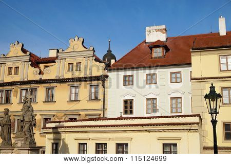 Picturesque Buildings In Prague