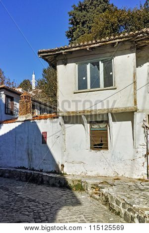 Typical architecture of old town of Xanthi, East Macedonia and Thrace