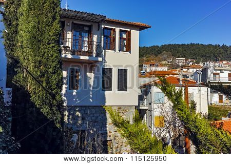 Amazing view of old town of Xanthi, East Macedonia and Thrace