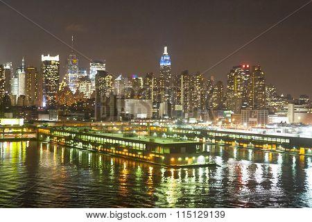 Midtown Coast At Night