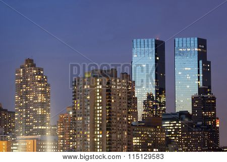 Time Warner Center Twin Tower