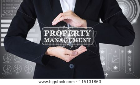 Business women holding posts in PROPERTY MANAGEMENT.