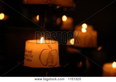 Candle From Church