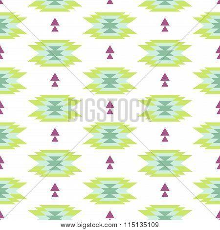 Tribal ethnic seamless pattern.
