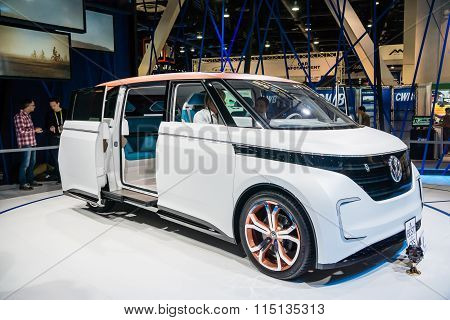 Volkswagen BUDD-e Electric Wagon