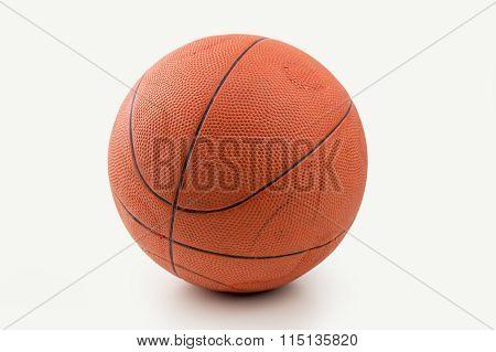 Retro Ball Of Basketball