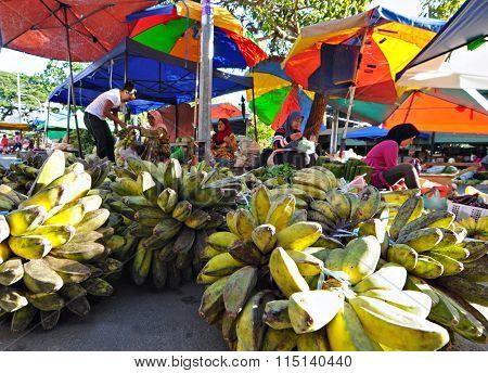 The banana trader of Tuaran, Sabah