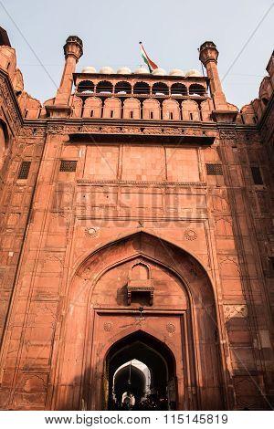 Mughal Fort in Delhi