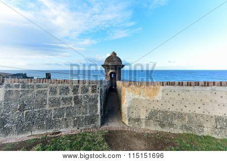 City Walls Of San Juan, Puerto Rico