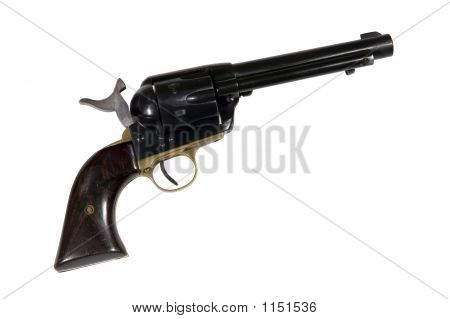 Old West Single Action Revolver