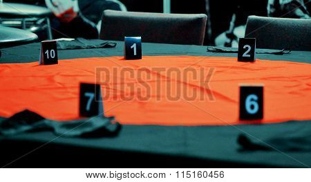 Table For Playing Mafia