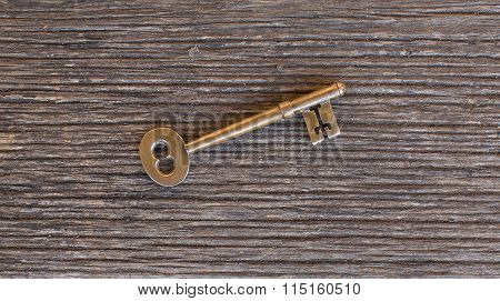 Brass Door Key