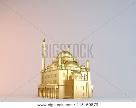 mosque gold