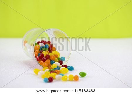 Assorted jelly beans