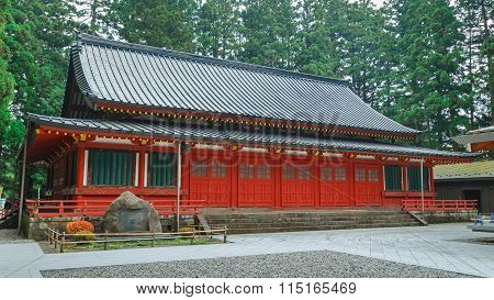 Toshogu Butokuden - acclaims that it's the place of rebirth of
