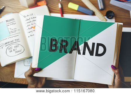 Ideas Creative Brand Marketing Plan Concept