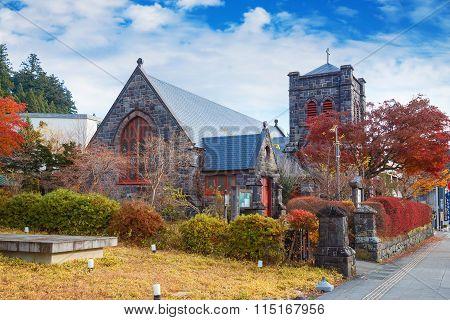 The Nikko Shinko Church Chapel in Nikko Tochigi Japan