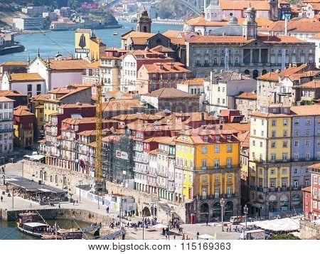 Porto Colored Architecture